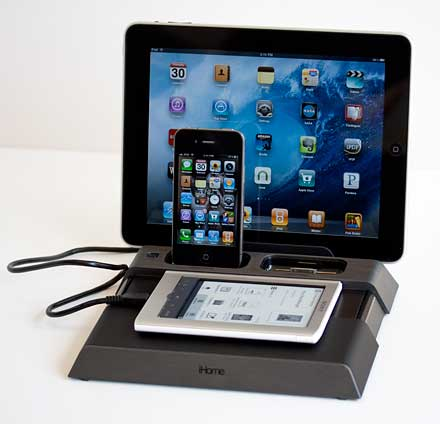 iHome Charging Station iB969G - iPhone and iPad Accessory ...