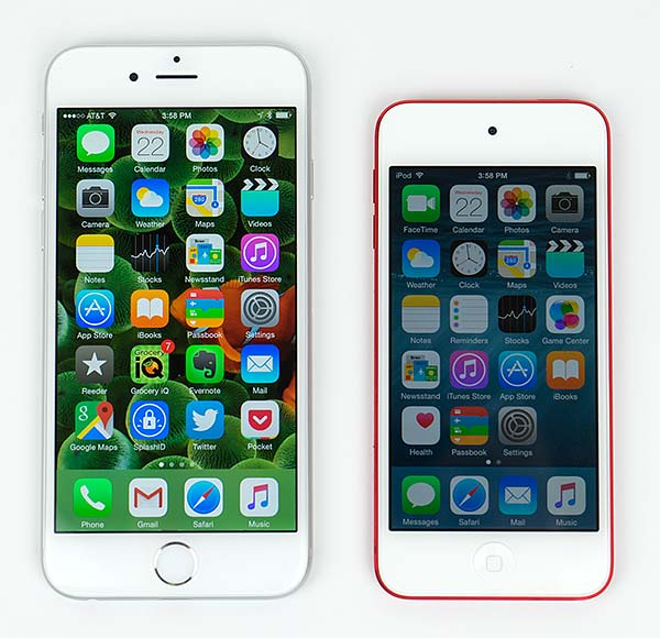 iPod Touch 6th Generation Review - iPhone, iPad and iPod ...