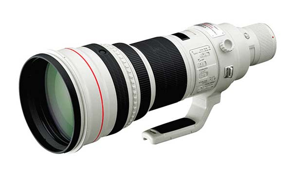 Canon EF 600mm super tele lens
