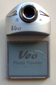 Veo Photo Traveler digital camera for Pocket PC