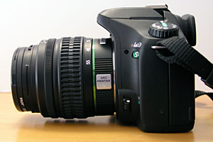 Pentax side view