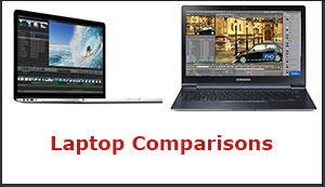 Laptop comparisons