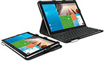 "Logitech Pro keyboard case for Samsung Galaxy 12"" tablets"