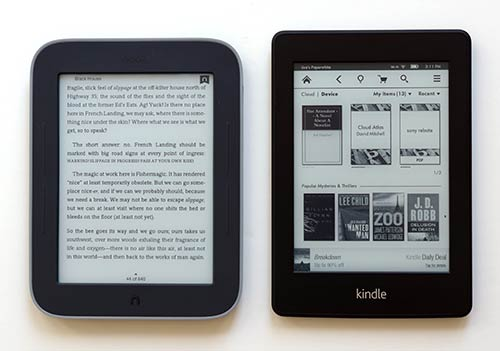 Kindle Vs Sony Reader: Amazon Kindle Paperwhite Review