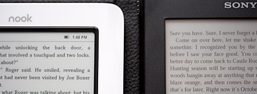 nook and Sony Reader
