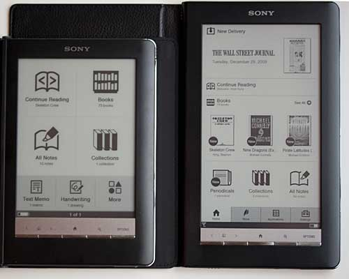 Sony Reader Daily Edition PRS-900 ebook reader