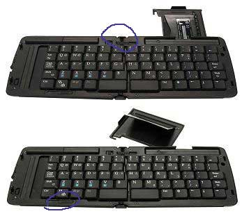 Bluetooth PDA Keyboard