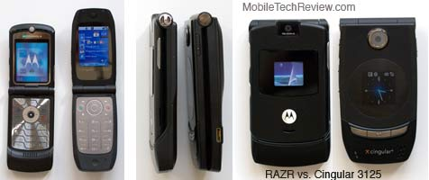 Motorola RAZR and Cingular 3125