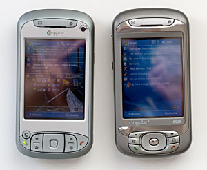 HTC TyTN and Cingular 8525