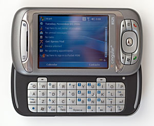 cingular 8525 and htc tytn windows mobile pda phone and smartphone rh mobiletechreview com AT&T No Contract Phones Hard Reset HTC 8525