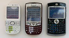 Palm Centro and Motorola Q Global