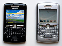 BlackBerry 8830 and 8800