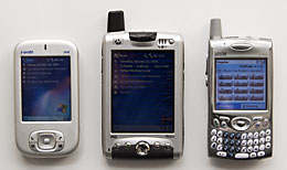 JAM, iPAQ 6315 and Treo 650