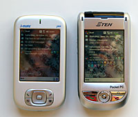 HTC Magician and eten m500