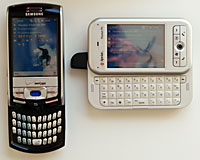 Samsung i730 and Sprint PPC-6700