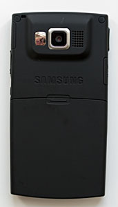 back of Samsung i607