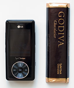 LG Chocolate and Godiva