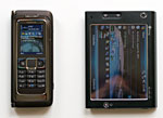 Nokia E90 and Advantage