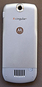 back of Motorola SLVF L6
