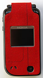 Nokia 7270 with cover