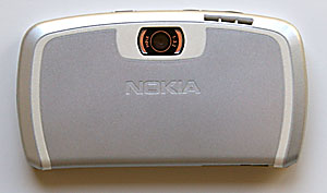 back of Nokia 7710