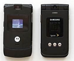 Samsung A900M and RAZR