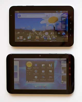 Dell Streak 7 and Samsung Galaxy Tab