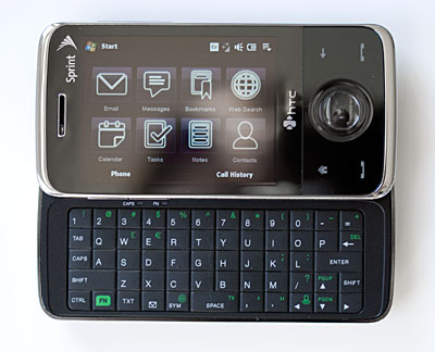 sprint htc touch pro smartphone reviews by mobile tech review rh mobiletechreview com HTC Touch Pro 2 Update HTC Touch Pro 2 Accessories