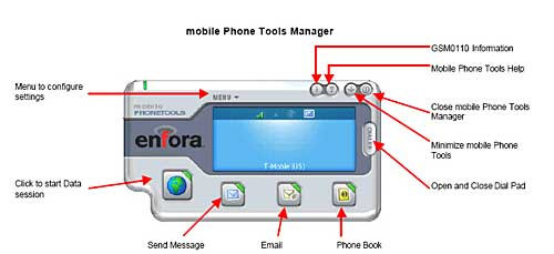 mobile Phone Tools for PC screen