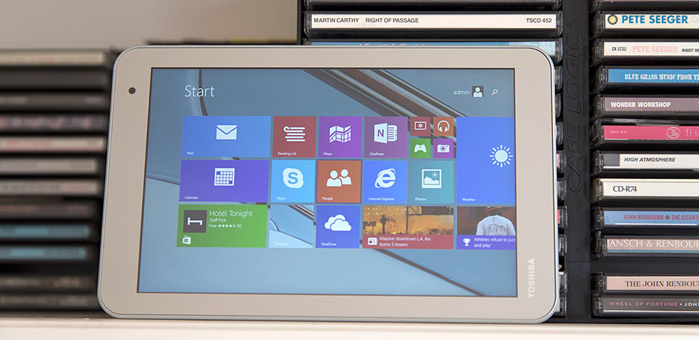 Toshiba Encore 2 8 Inch Windows Tablet Review Tablet