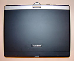 top view of Portege 3505 Tablet