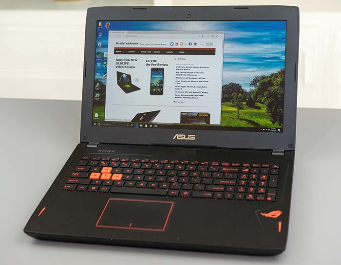 Asus ROG Strix GL502VS Review - Gaming Laptop Reviews by MobileTechReview