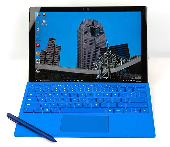 Microsoft Surface Pro 4 Review Laptop And Tablet Reviews By