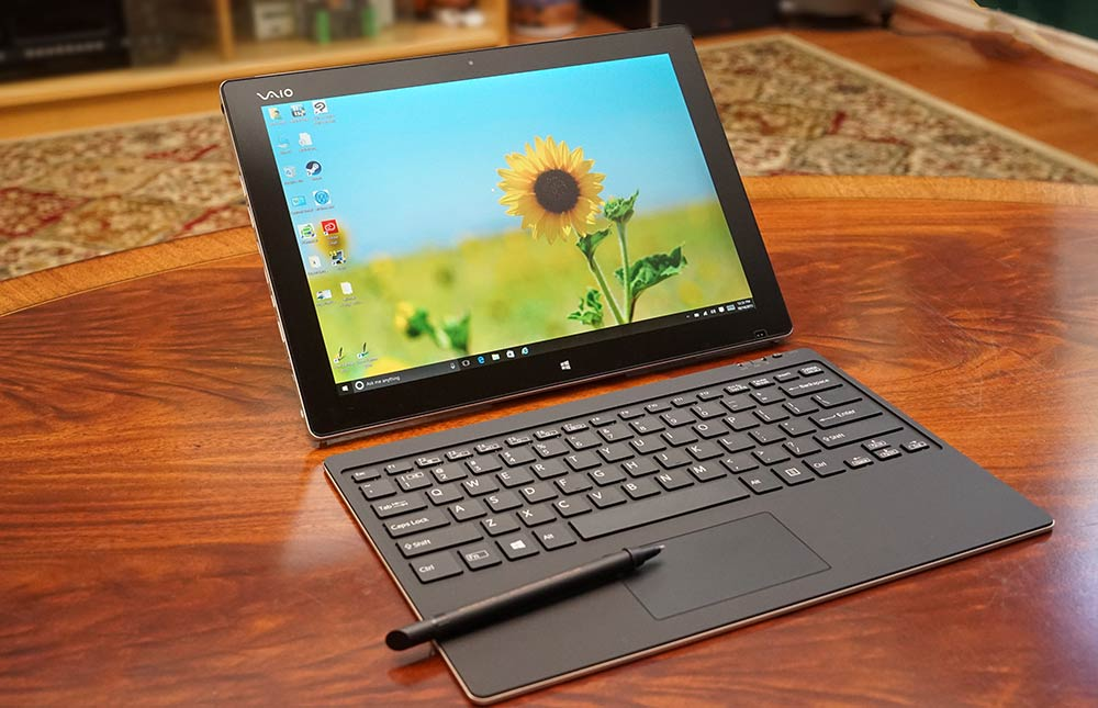 Vaio Z Canvas Review - Windows Tablet and 2-in-1 Reviews by