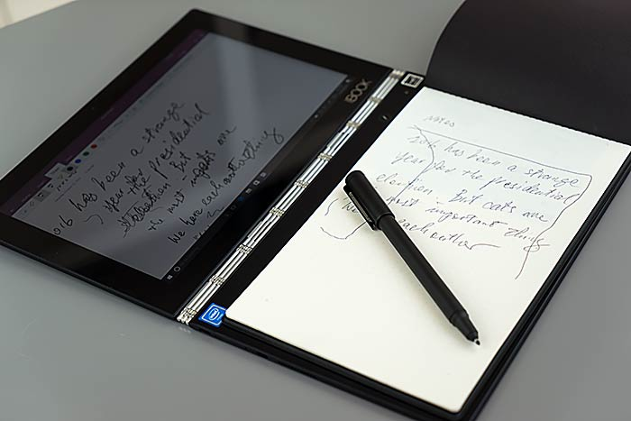 Lenovo Yoga Book Review - Laptop and Tablet Reviews by